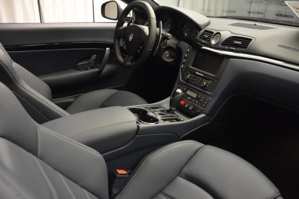 New 2016 Maserati GranTurismo Convertible Sport for sale Sold at Bugatti of Greenwich in Greenwich CT 06830 27