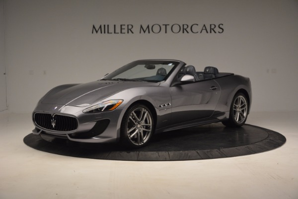 New 2016 Maserati GranTurismo Convertible Sport for sale Sold at Bugatti of Greenwich in Greenwich CT 06830 3