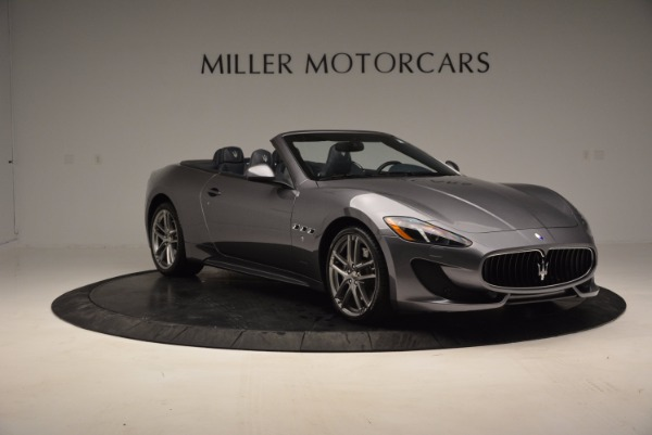 New 2016 Maserati GranTurismo Convertible Sport for sale Sold at Bugatti of Greenwich in Greenwich CT 06830 8