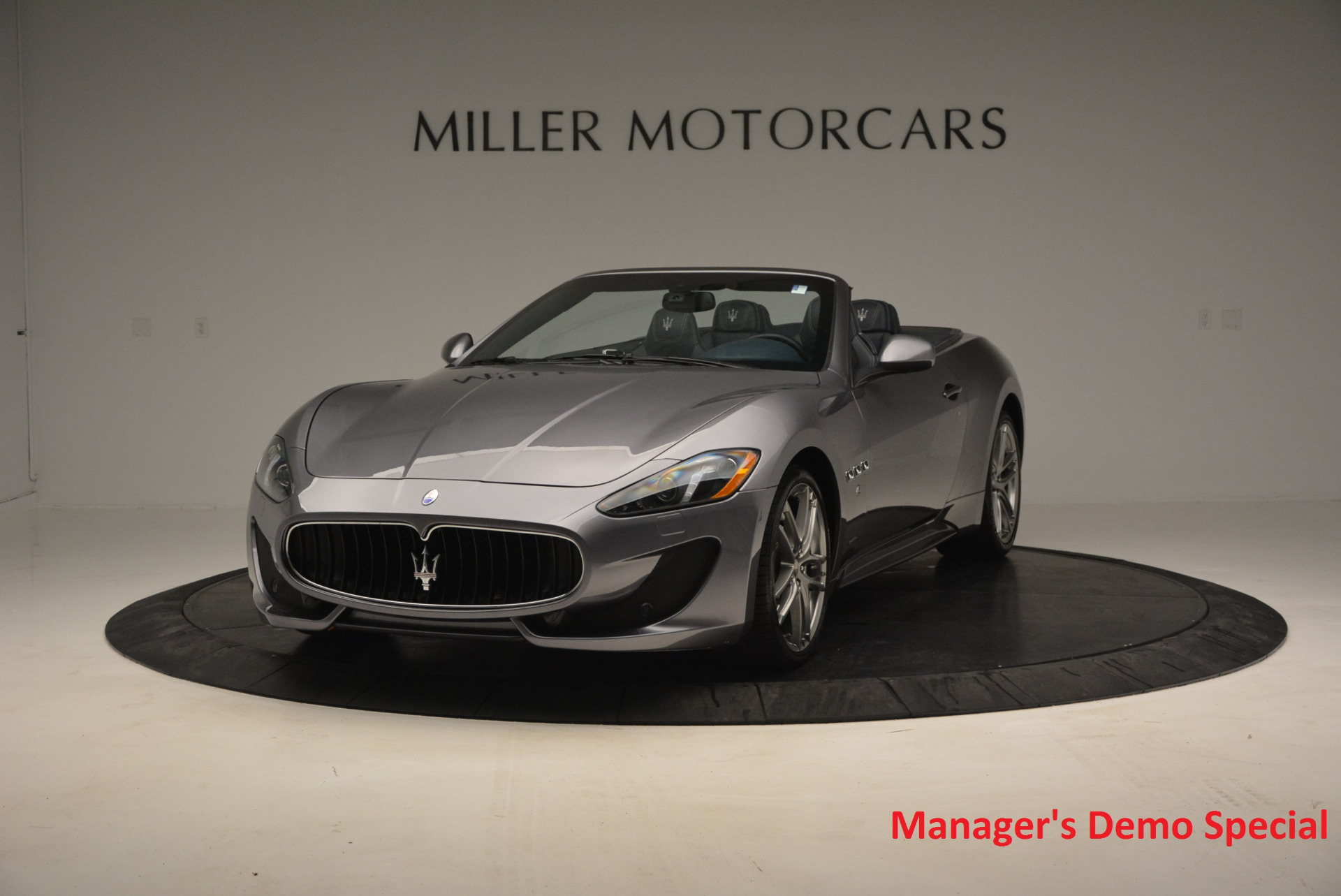 New 2016 Maserati GranTurismo Convertible Sport for sale Sold at Bugatti of Greenwich in Greenwich CT 06830 1