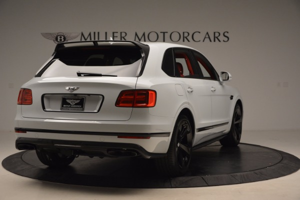 New 2018 Bentley Bentayga Black Edition for sale Sold at Bugatti of Greenwich in Greenwich CT 06830 7