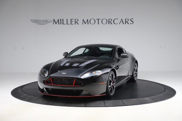 Used 2017 Aston Martin V12 Vantage S Coupe for sale $179,900 at Bugatti of Greenwich in Greenwich CT 06830 12