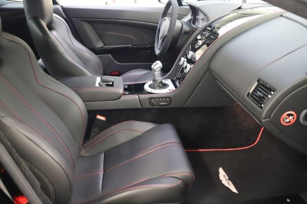 Used 2017 Aston Martin V12 Vantage S Coupe for sale Sold at Bugatti of Greenwich in Greenwich CT 06830 22