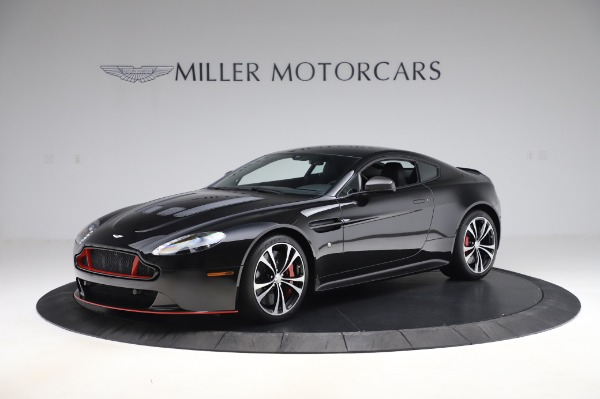 Used 2017 Aston Martin V12 Vantage S Coupe for sale $179,900 at Bugatti of Greenwich in Greenwich CT 06830 1