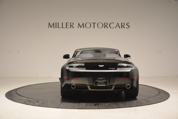 New 2016 Aston Martin V8 Vantage Roadster for sale Sold at Bugatti of Greenwich in Greenwich CT 06830 6