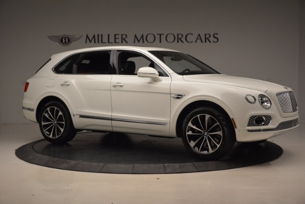 Used 2018 Bentley Bentayga Onyx for sale Call for price at Bugatti of Greenwich in Greenwich CT 06830 10