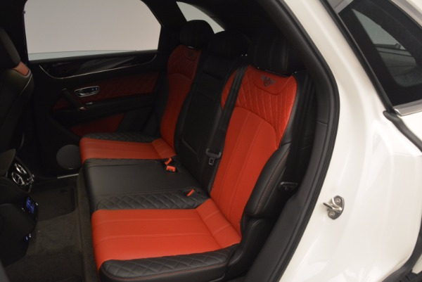 Used 2018 Bentley Bentayga Onyx for sale Call for price at Bugatti of Greenwich in Greenwich CT 06830 23