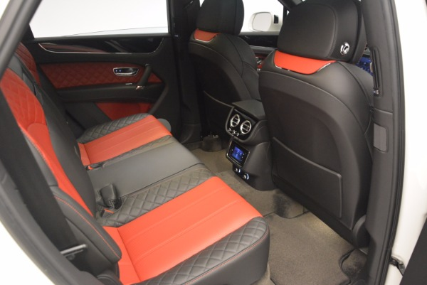 Used 2018 Bentley Bentayga Onyx for sale Call for price at Bugatti of Greenwich in Greenwich CT 06830 24