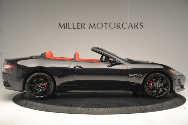 New 2016 Maserati GranTurismo Convertible Sport for sale Sold at Bugatti of Greenwich in Greenwich CT 06830 17