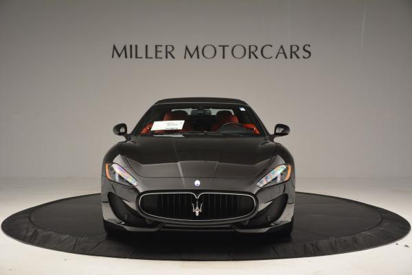 New 2016 Maserati GranTurismo Convertible Sport for sale Sold at Bugatti of Greenwich in Greenwich CT 06830 24