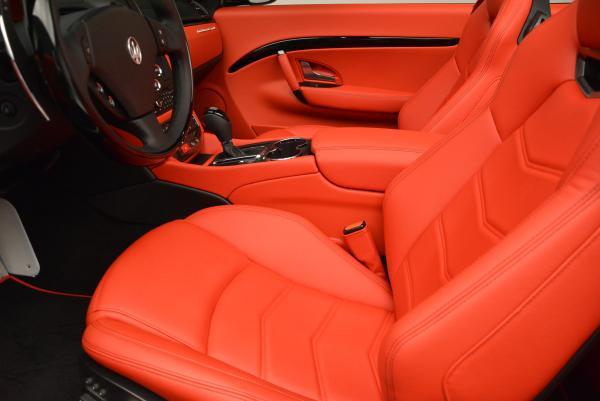 New 2016 Maserati GranTurismo Convertible Sport for sale Sold at Bugatti of Greenwich in Greenwich CT 06830 26