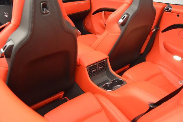 New 2016 Maserati GranTurismo Convertible Sport for sale Sold at Bugatti of Greenwich in Greenwich CT 06830 28