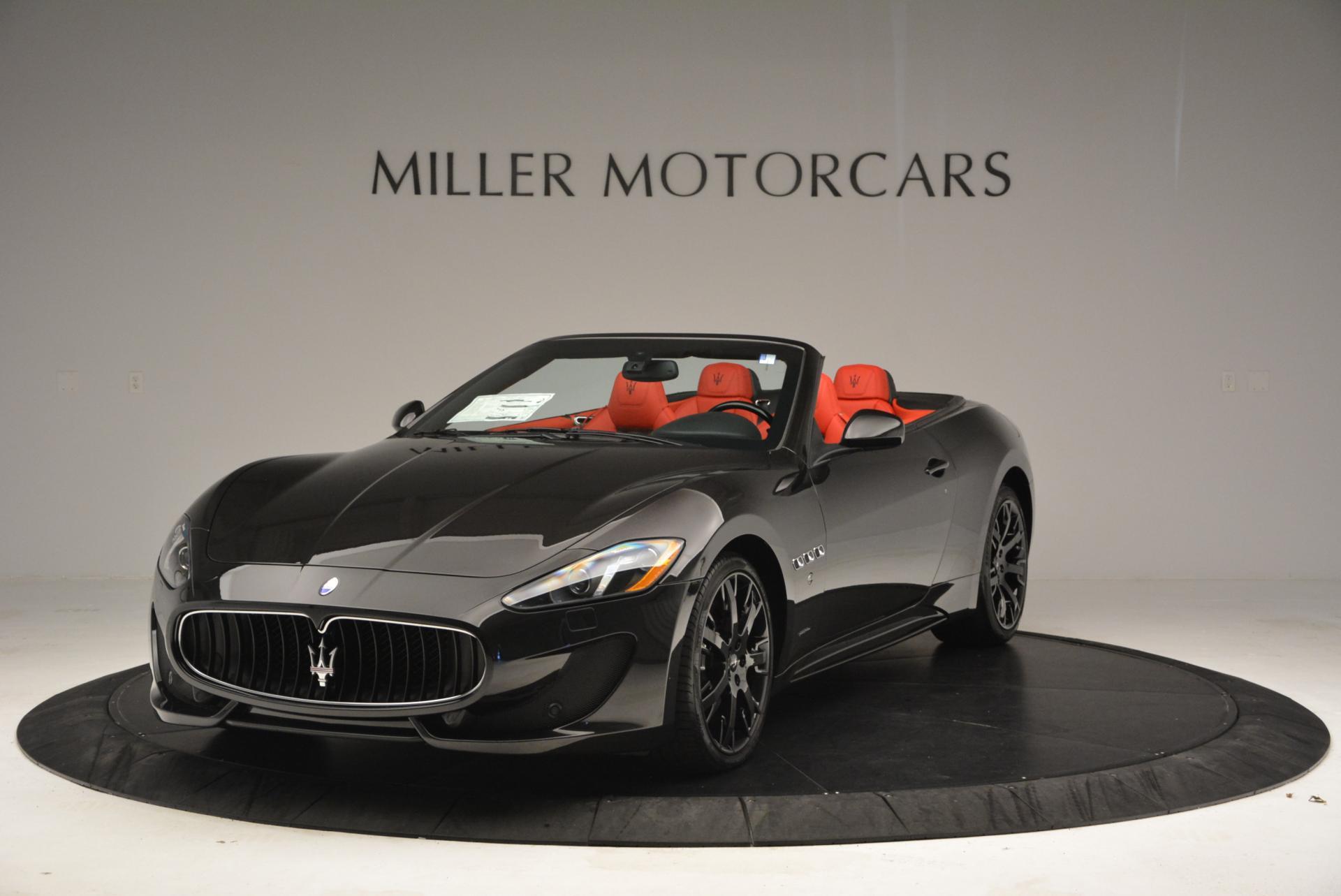 New 2016 Maserati GranTurismo Convertible Sport for sale Sold at Bugatti of Greenwich in Greenwich CT 06830 1