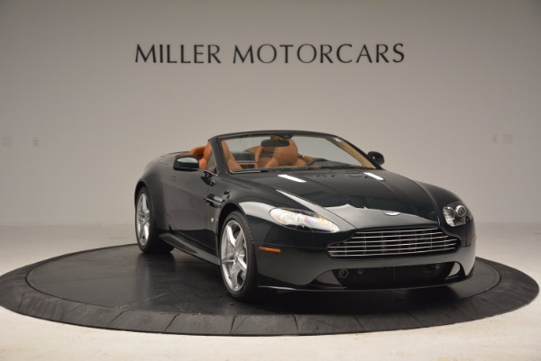 Used 2016 Aston Martin V8 Vantage S Roadster for sale Sold at Bugatti of Greenwich in Greenwich CT 06830 11