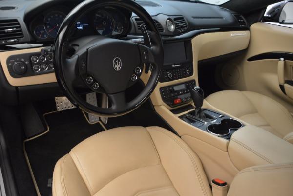 Used 2015 Maserati GranTurismo Sport Coupe for sale Sold at Bugatti of Greenwich in Greenwich CT 06830 13