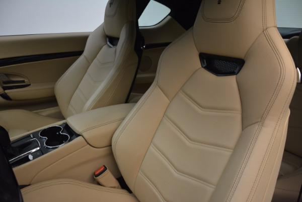 Used 2015 Maserati GranTurismo Sport Coupe for sale Sold at Bugatti of Greenwich in Greenwich CT 06830 15