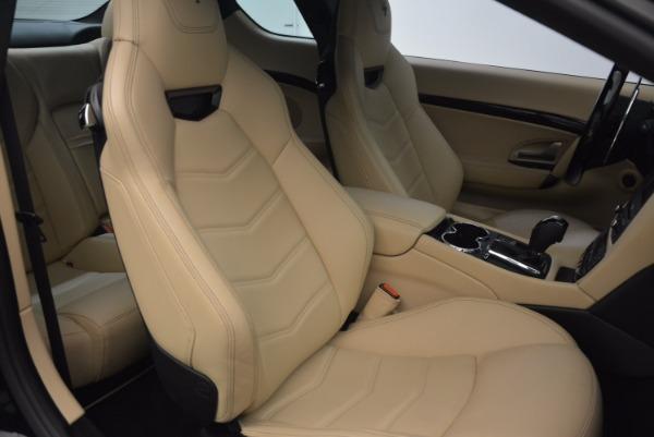 Used 2015 Maserati GranTurismo Sport Coupe for sale Sold at Bugatti of Greenwich in Greenwich CT 06830 24