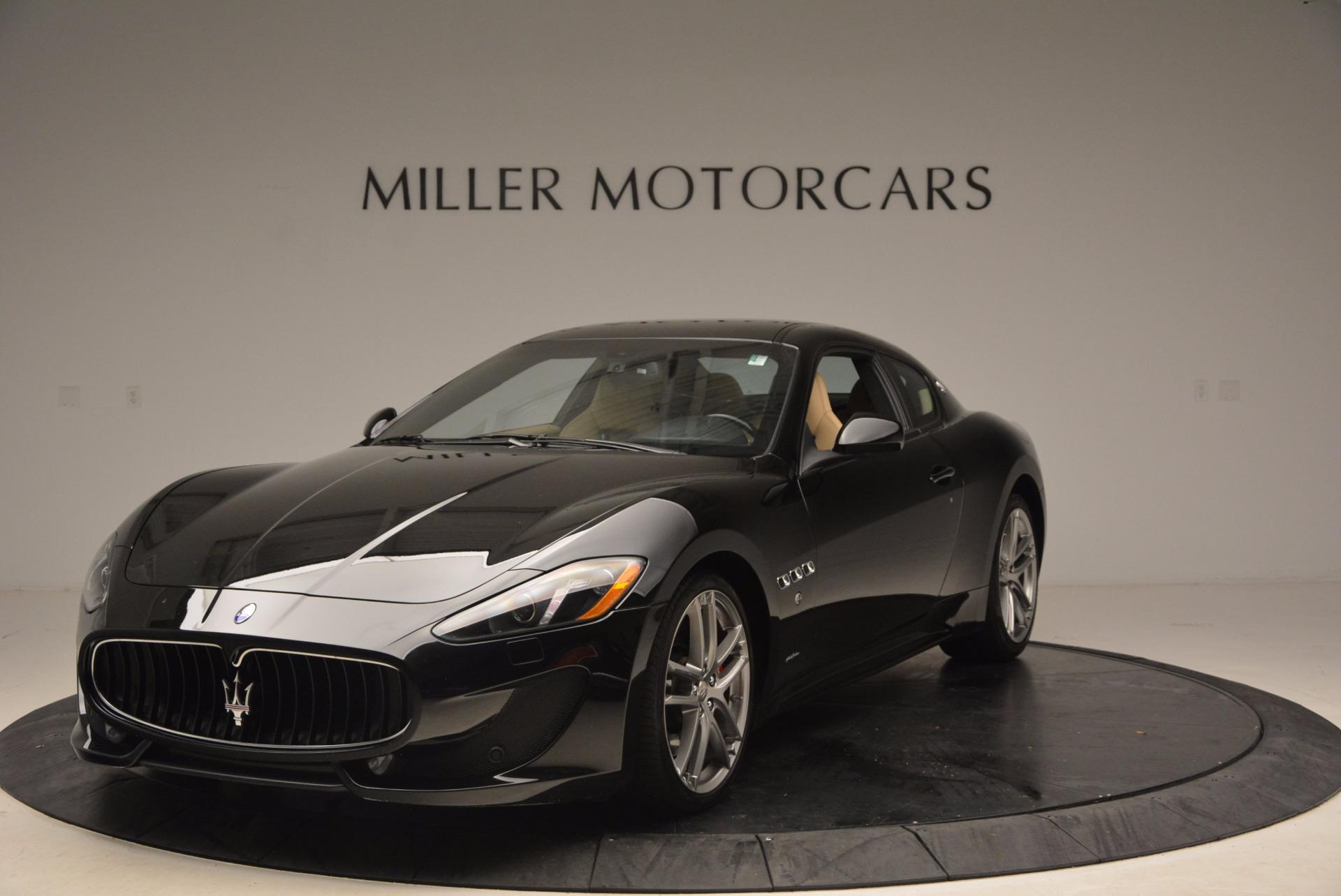Used 2015 Maserati GranTurismo Sport Coupe for sale Sold at Bugatti of Greenwich in Greenwich CT 06830 1