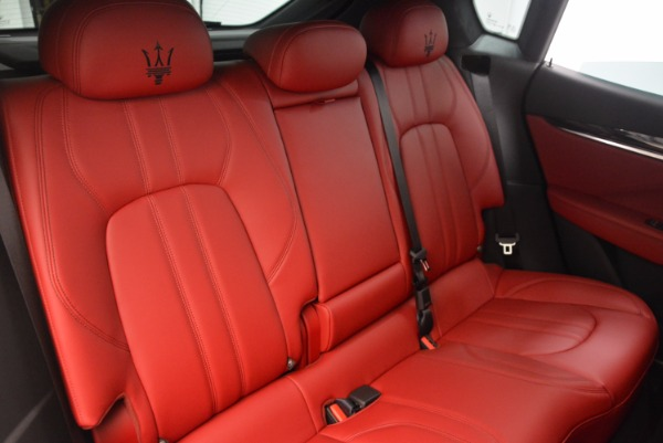 New 2018 Maserati Levante Q4 GranSport for sale Sold at Bugatti of Greenwich in Greenwich CT 06830 24