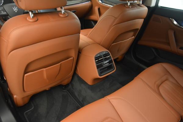 Used 2018 Maserati Quattroporte S Q4 GranLusso for sale Sold at Bugatti of Greenwich in Greenwich CT 06830 17
