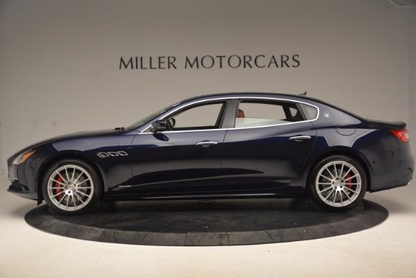 Used 2018 Maserati Quattroporte S Q4 GranLusso for sale Sold at Bugatti of Greenwich in Greenwich CT 06830 3