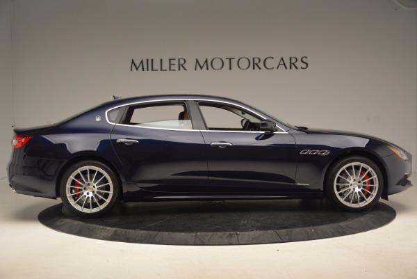 Used 2018 Maserati Quattroporte S Q4 GranLusso for sale Sold at Bugatti of Greenwich in Greenwich CT 06830 9