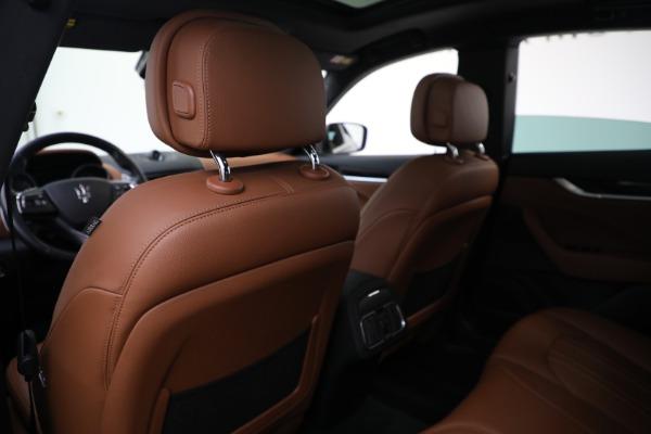 Used 2018 Maserati Levante Q4 for sale $57,900 at Bugatti of Greenwich in Greenwich CT 06830 19