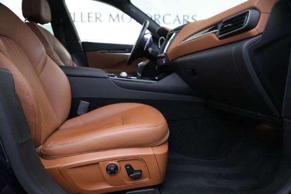 Used 2018 Maserati Levante Q4 for sale $57,900 at Bugatti of Greenwich in Greenwich CT 06830 22