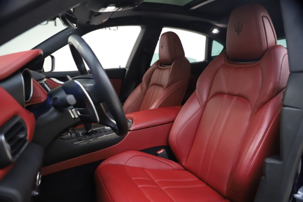 Used 2018 Maserati Levante S GranSport for sale $66,900 at Bugatti of Greenwich in Greenwich CT 06830 14