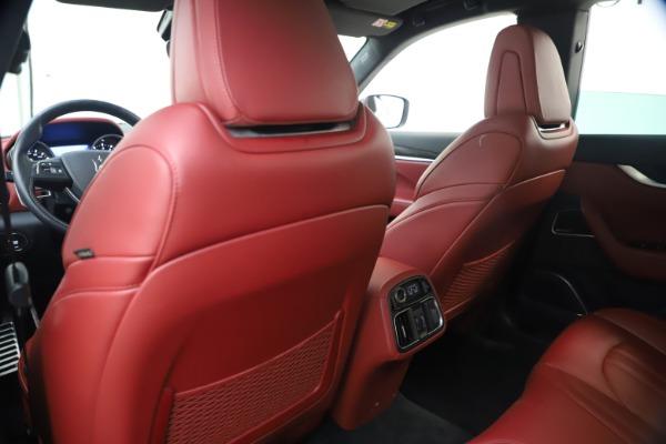 Used 2018 Maserati Levante S GranSport for sale $66,900 at Bugatti of Greenwich in Greenwich CT 06830 21