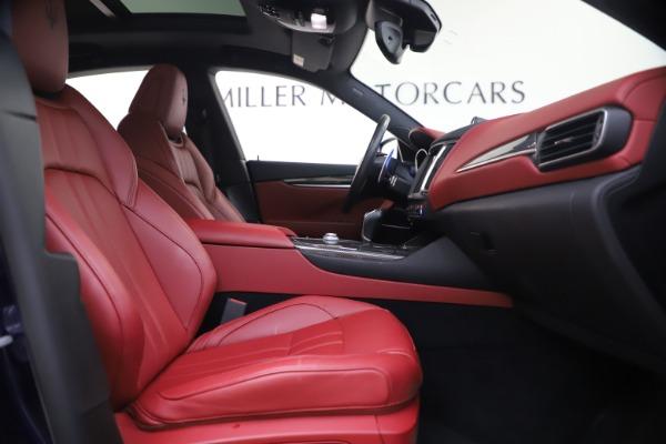 Used 2018 Maserati Levante S GranSport for sale $66,900 at Bugatti of Greenwich in Greenwich CT 06830 23