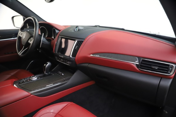 Used 2018 Maserati Levante S GranSport for sale $66,900 at Bugatti of Greenwich in Greenwich CT 06830 24