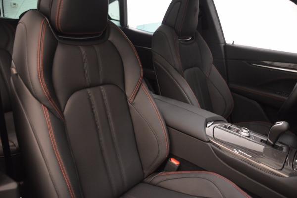 New 2018 Maserati Levante S Q4 GRANSPORT for sale Sold at Bugatti of Greenwich in Greenwich CT 06830 21