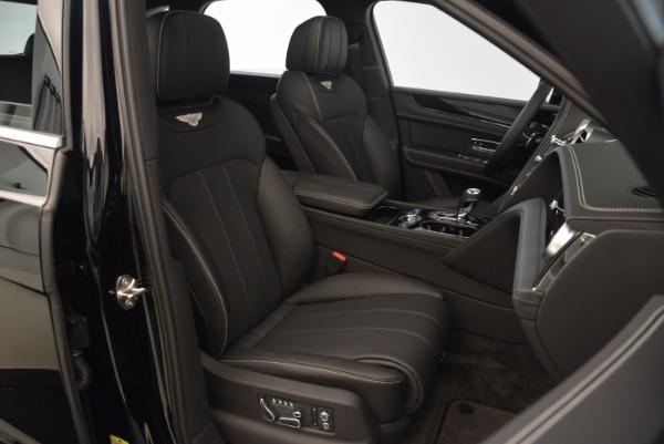 Used 2018 Bentley Bentayga Onyx Edition for sale $139,900 at Bugatti of Greenwich in Greenwich CT 06830 28