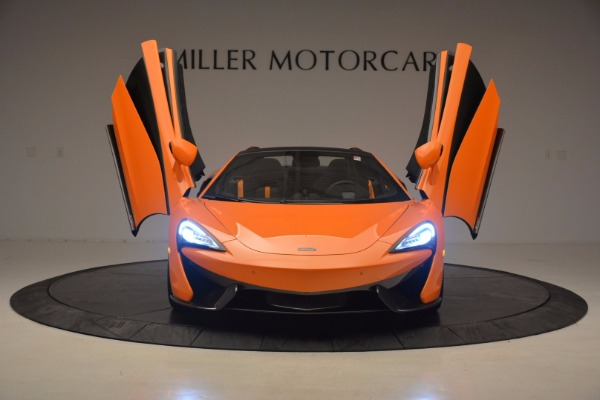 New 2018 McLaren 570S Spider for sale Sold at Bugatti of Greenwich in Greenwich CT 06830 13