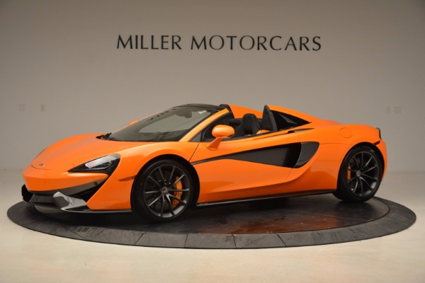 New 2018 McLaren 570S Spider for sale Sold at Bugatti of Greenwich in Greenwich CT 06830 2