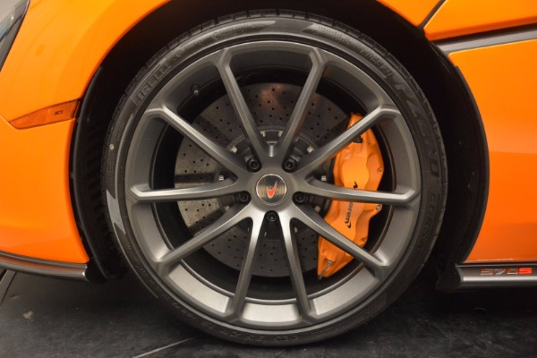 New 2018 McLaren 570S Spider for sale Sold at Bugatti of Greenwich in Greenwich CT 06830 23