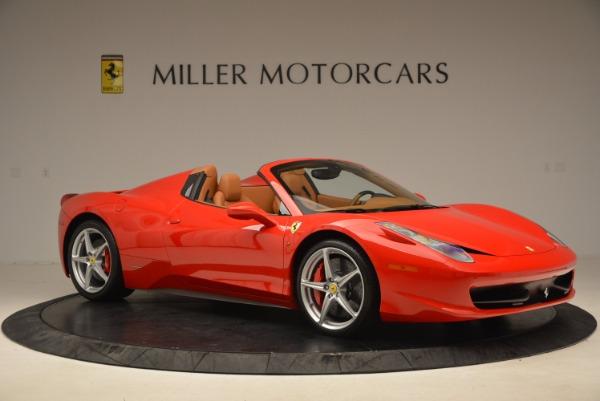 Used 2012 Ferrari 458 Spider for sale Sold at Bugatti of Greenwich in Greenwich CT 06830 10