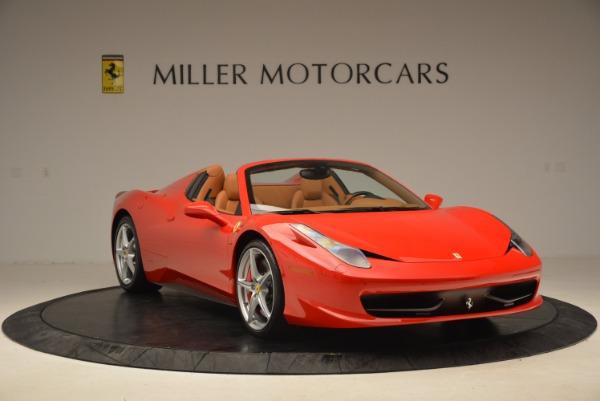 Used 2012 Ferrari 458 Spider for sale Sold at Bugatti of Greenwich in Greenwich CT 06830 11