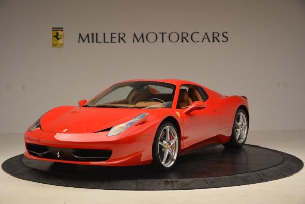 Used 2012 Ferrari 458 Spider for sale Sold at Bugatti of Greenwich in Greenwich CT 06830 13