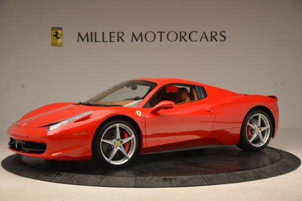 Used 2012 Ferrari 458 Spider for sale Sold at Bugatti of Greenwich in Greenwich CT 06830 14