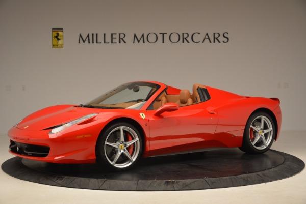 Used 2012 Ferrari 458 Spider for sale Sold at Bugatti of Greenwich in Greenwich CT 06830 2