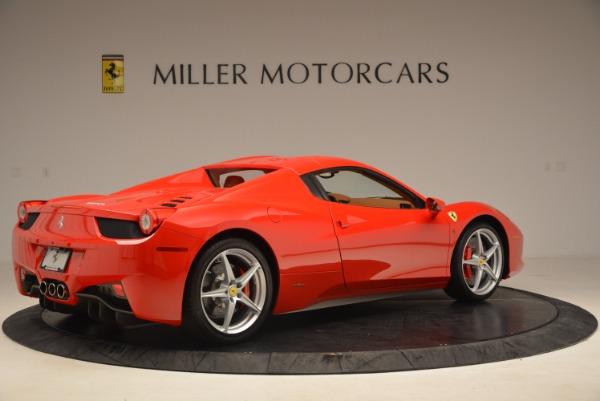 Used 2012 Ferrari 458 Spider for sale Sold at Bugatti of Greenwich in Greenwich CT 06830 20