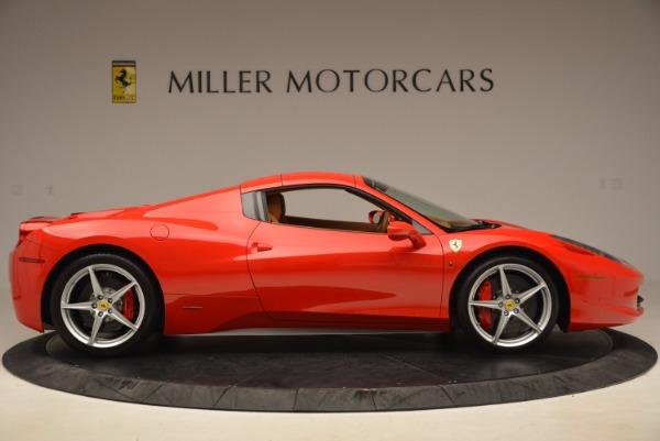 Used 2012 Ferrari 458 Spider for sale Sold at Bugatti of Greenwich in Greenwich CT 06830 21