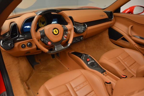 Used 2012 Ferrari 458 Spider for sale Sold at Bugatti of Greenwich in Greenwich CT 06830 25
