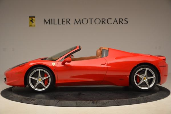 Used 2012 Ferrari 458 Spider for sale Sold at Bugatti of Greenwich in Greenwich CT 06830 3
