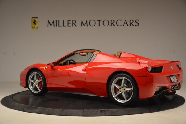 Used 2012 Ferrari 458 Spider for sale Sold at Bugatti of Greenwich in Greenwich CT 06830 4