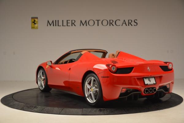 Used 2012 Ferrari 458 Spider for sale Sold at Bugatti of Greenwich in Greenwich CT 06830 5