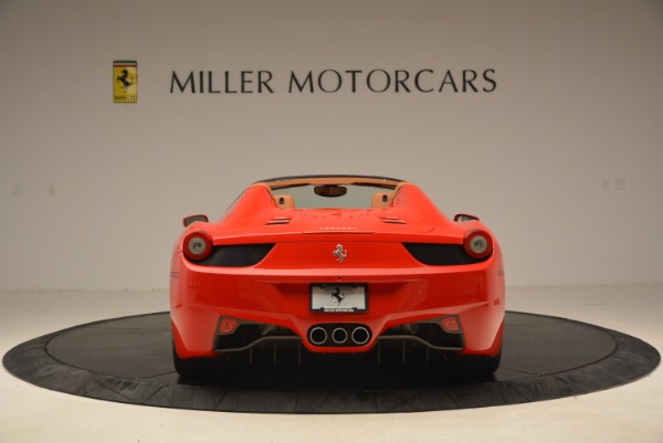Used 2012 Ferrari 458 Spider for sale Sold at Bugatti of Greenwich in Greenwich CT 06830 6