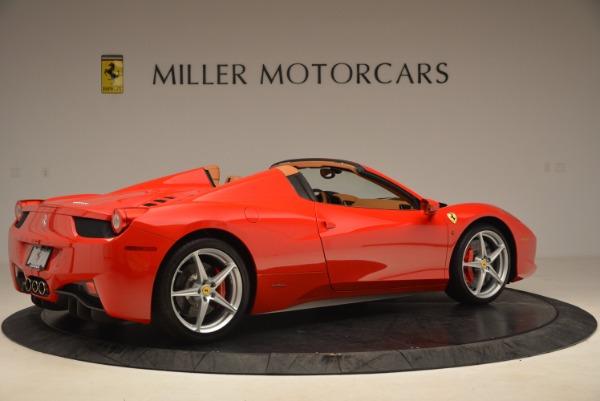 Used 2012 Ferrari 458 Spider for sale Sold at Bugatti of Greenwich in Greenwich CT 06830 8